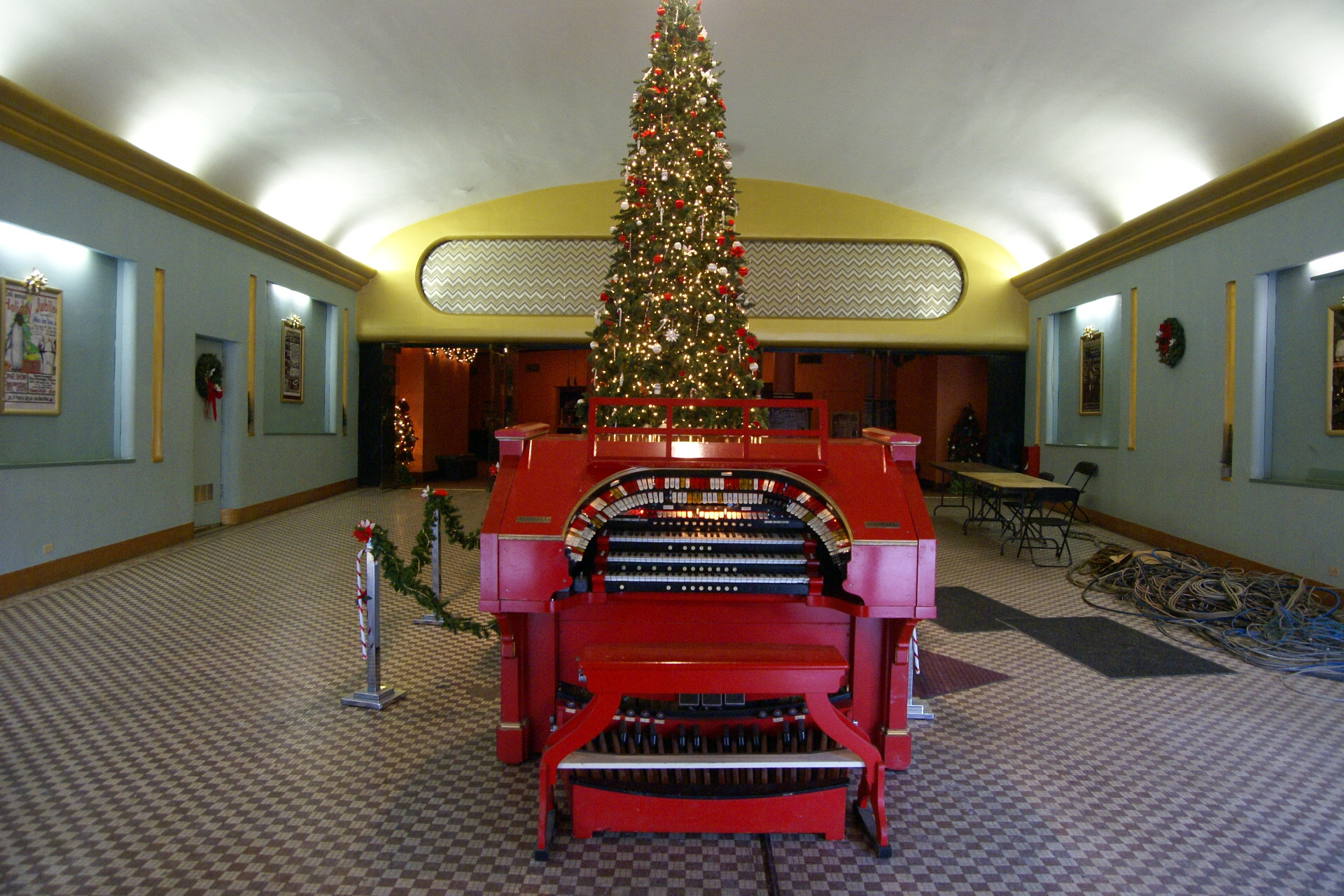 Vintage organ gets new home for Classic house organ bass